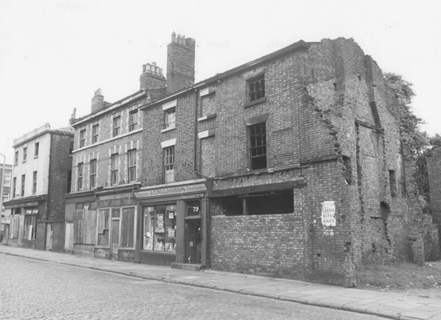 60s blight in a section of Falkner Street that no longer exists.