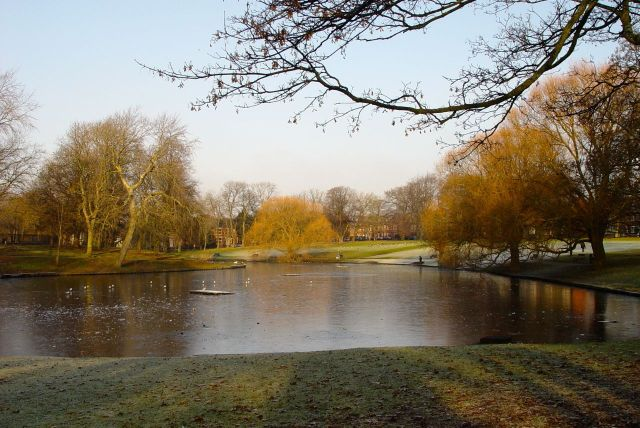 Greenbank Park. At all seasons, one of the loveliest sights in Liverpool.