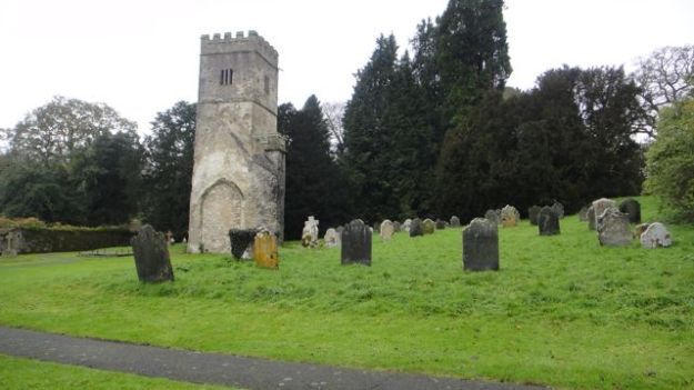 From the former Dartington Church, which dates form the 13th century.