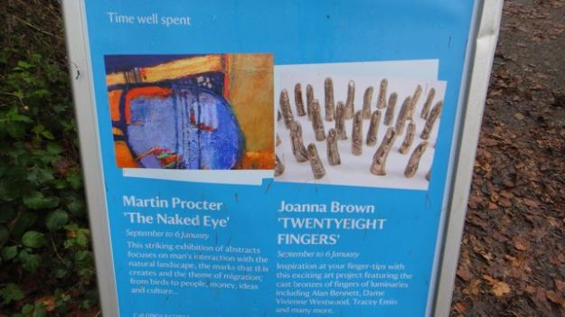 Eight quid to see a collection of finger casts?