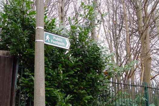 And a public footpath too.