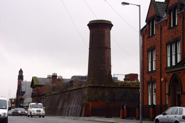 Past the lovely Toxteth Indoor Reservoir.