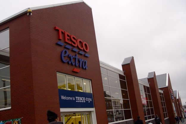 Meanwhile, up next, as far as the eye can see, is Tesco.