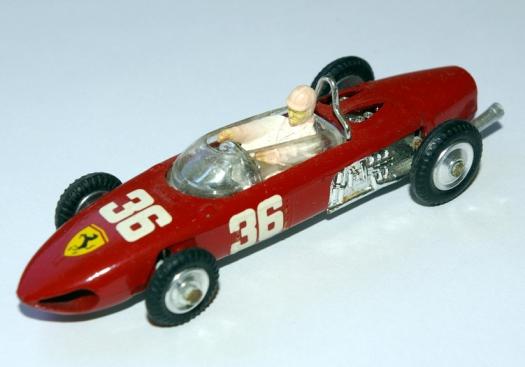 Phil Hill or Lorenzo Bandini in the Ferrari.
