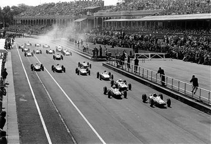 Grand Prix at Aintree, Liverpool.