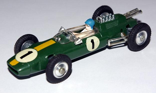 Jim Clark in the Corgi Lotus 25.