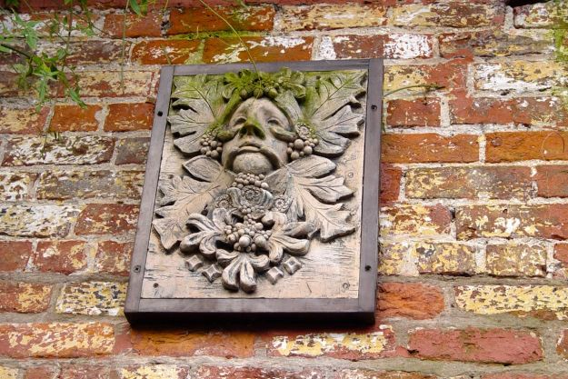 Watched over by Pan, the pagan Green Man.