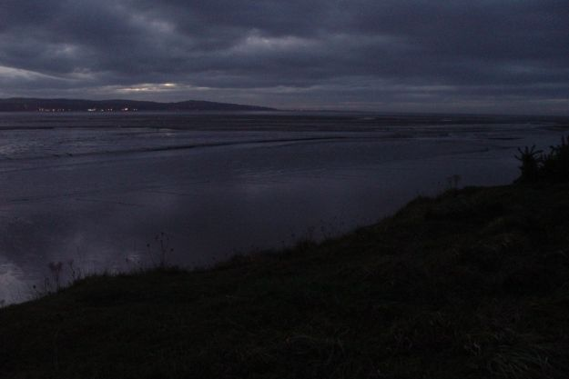 The Dee Estuary.