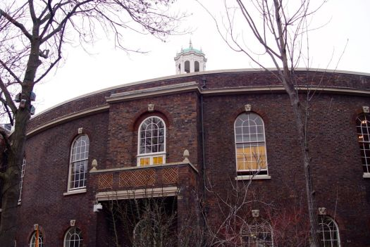 Back to the 1700s. 'The Charity School' - The Bluecoat.