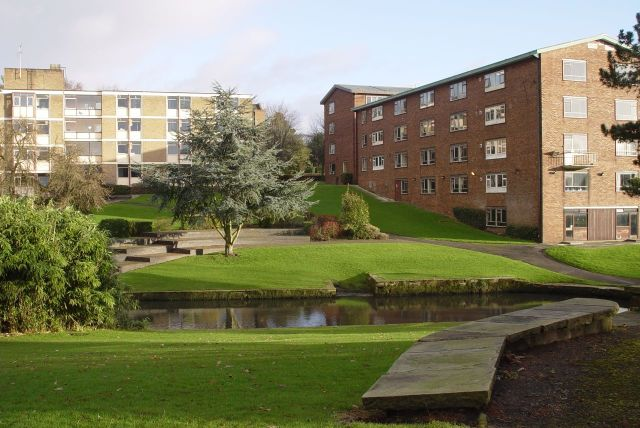 These days the grounds of Greenbank House contain several University halls of residence.