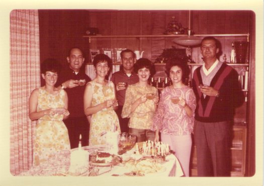 The 60s. Not actually our families. But they could have been.