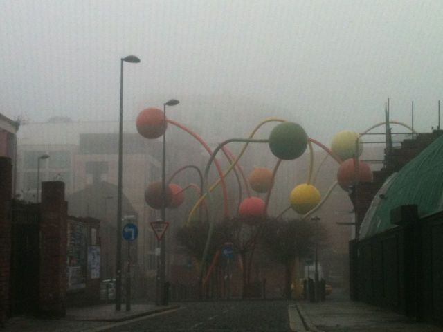 Wonderfully eerie at Wolstenholme Square.
