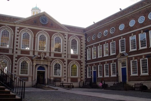 In the Bluecoat.