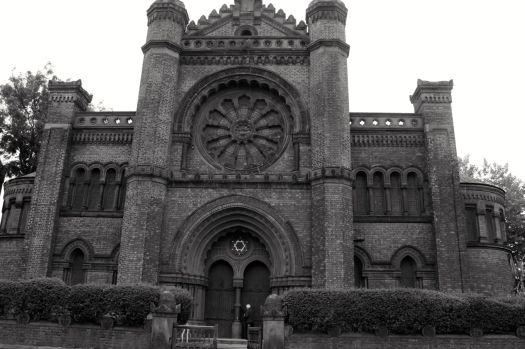 Princes Road Synagogue, Liverpool 8.