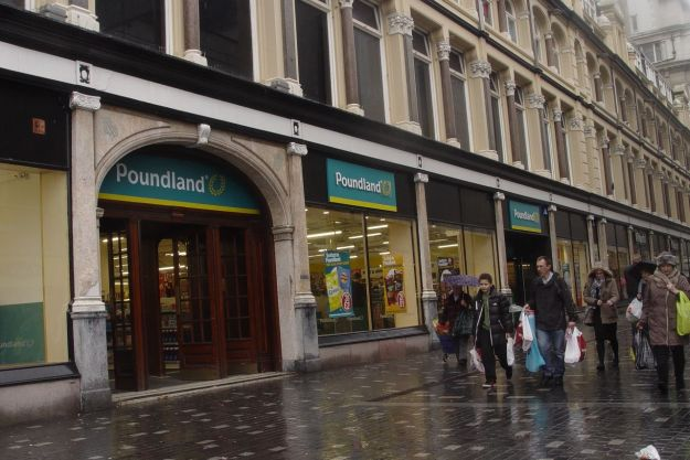 It hadn't been looking too good when half of the ground floor had been rented off to Poundland.