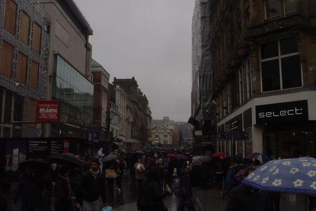 Church Street is busy.