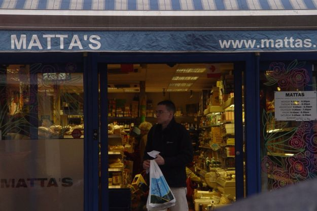 Matta's International Food Store, moved here from Granby Street in the early 1980s.