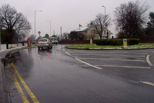 We enter Meols at the end of what is effectively Pump Lane from Greasby.