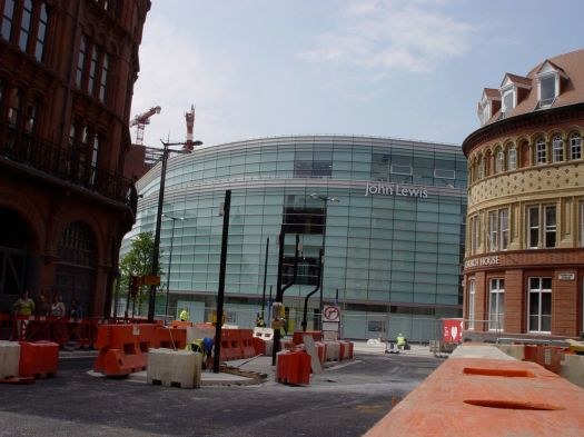 A modern 'flagship' store.