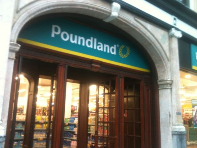 Can I help you in Poundland sir?