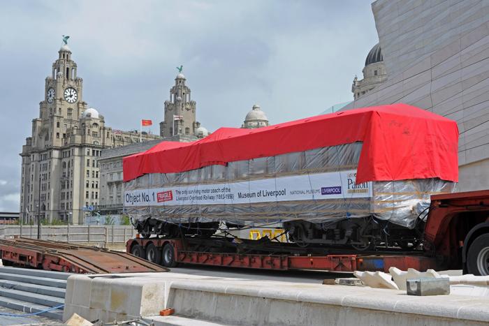 Carriage No 3 Museum of Liverpool 28 July 2010 John Binch
