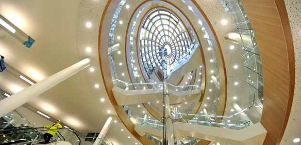The wonderful new Central Library in Liverpool. opening in May 2013.