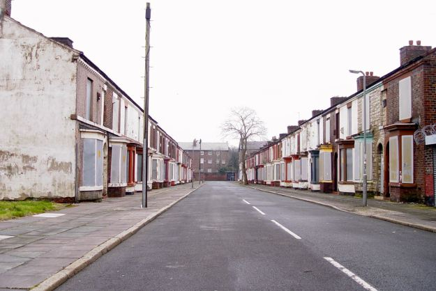 The Welsh Streets, Liverpool 8.
