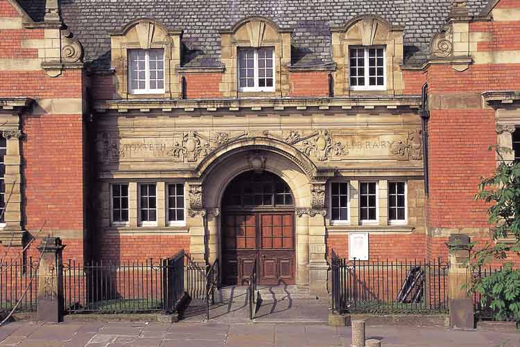 Toxteth library. Under threat?