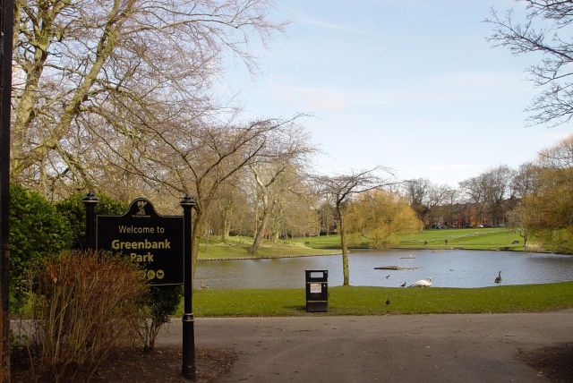 Greenbank Park, previously part of the grounds of Greenbank House.