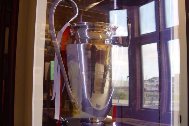The European Cup. We've won it five times you know.