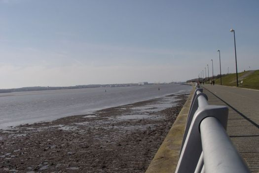 From where you can see all the way along to Cammel Laird's at Birkenhead