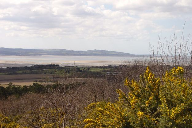 And the other way, across the Dee Estuary to Wales.