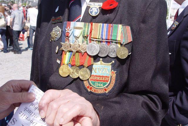 Lewis Trinder's medals.