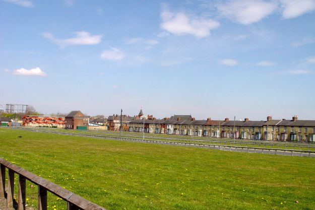 Vast fields of emptiness between Smithdown and Earle Roads. The harvest of the Housing Market Renewal Initiative.
