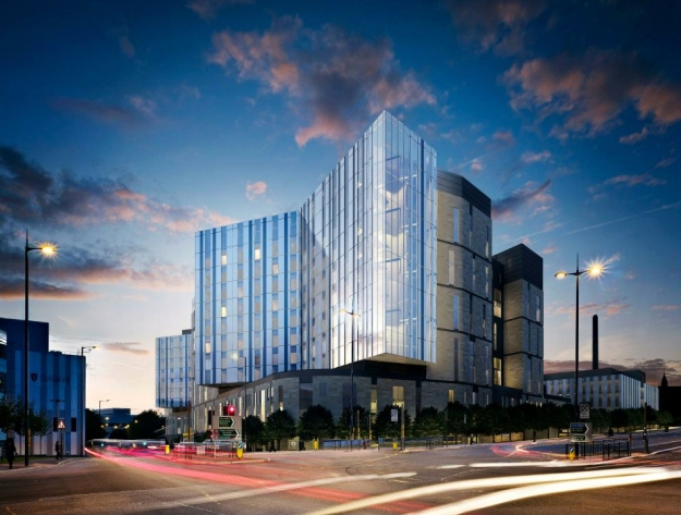 The planned new Royal Liverpool Hospital.