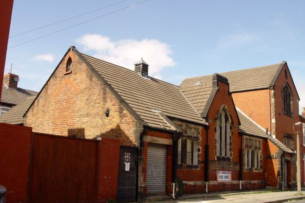 St Michael's Church Rooms and Sunday School. You can almost smell the chalk and the victorian Hymn books.