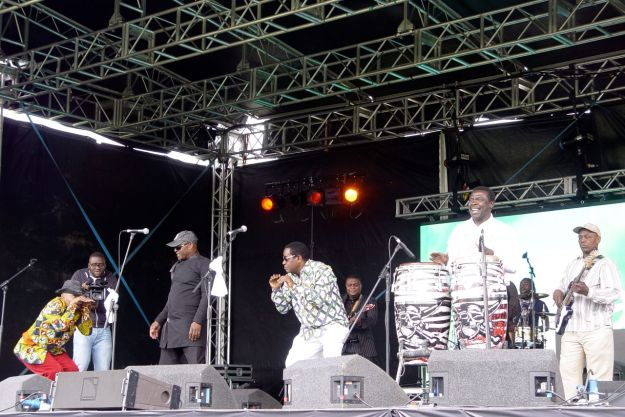 First up  the Zong Zing All Stars from Congo.