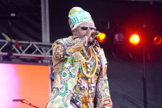 Here is Black Prophet, a reggae band from Ghana.