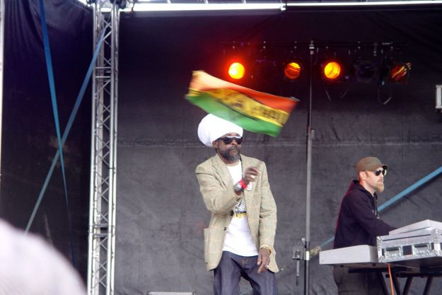 One member of Black Prophet is a 'Flag Waver' - an unusual role in a band?
