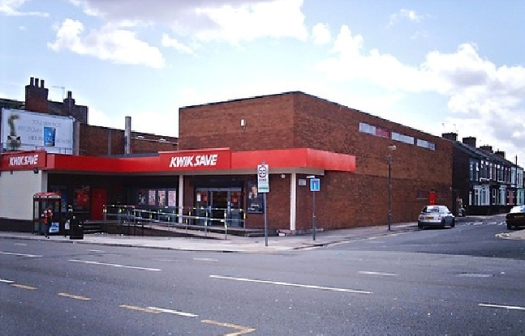 Which used to be a Kwik Save and before that a Tesco.