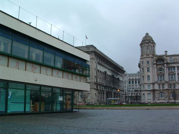 Pier Head, Liverpool 2003.