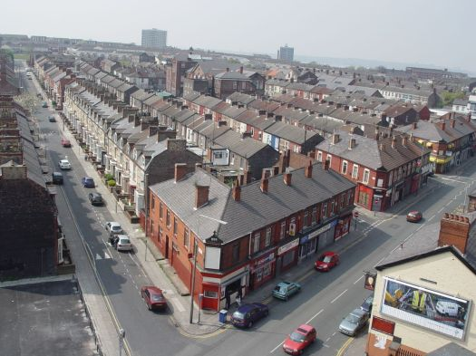 Or the 'V-streets' in Anfield, 2005. Much missed by many.