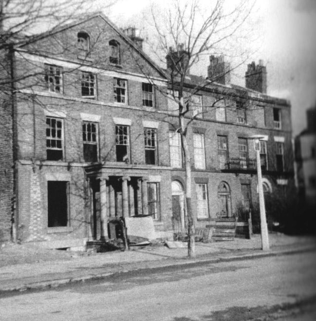 Upper Huskisson Street, empty and awaiting demolition, late 1960s.