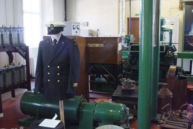 Including the uniform of Gordon Medlicott, one of the later lighthouse keepers to work at South Stack before it was mechanised in 1984.