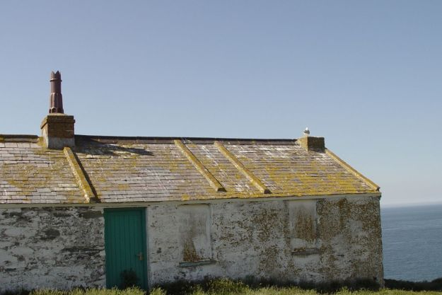 Where the lighthouse-keepers lived.