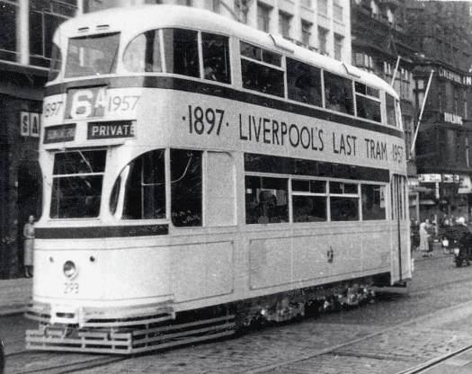 September 14th !957, the Last Tram.