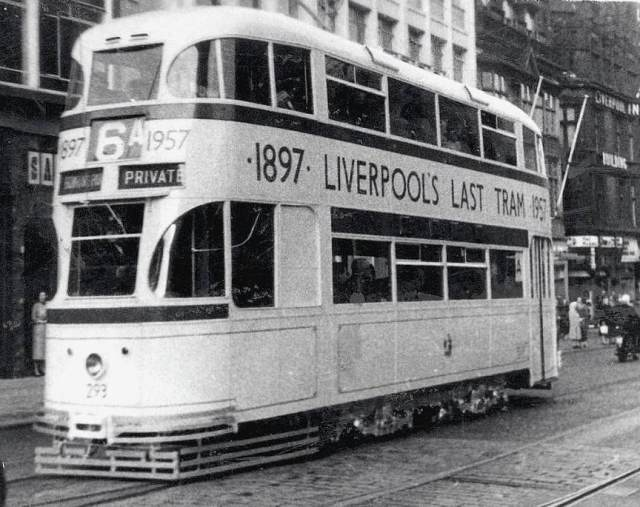 September 14th !957, the Last Tram.