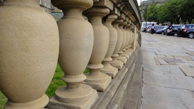 Lovely stone balustrades...