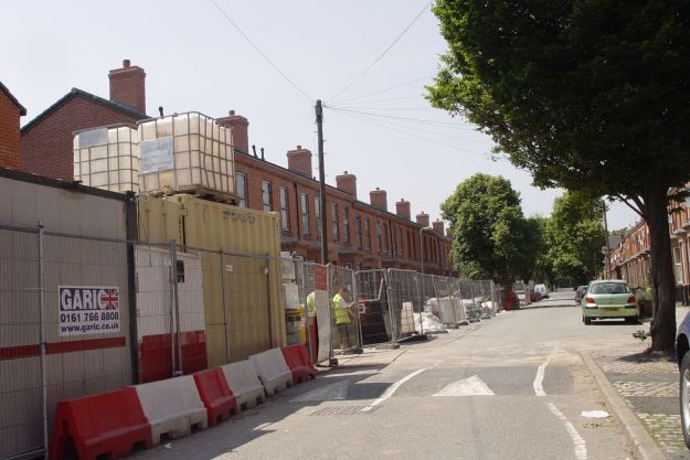 Plus Dane have nearly finished this side of Beaconsfield Street.