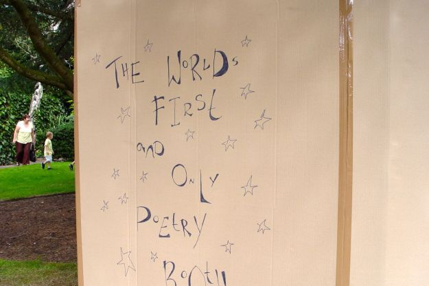 Where there is a poetry booth.